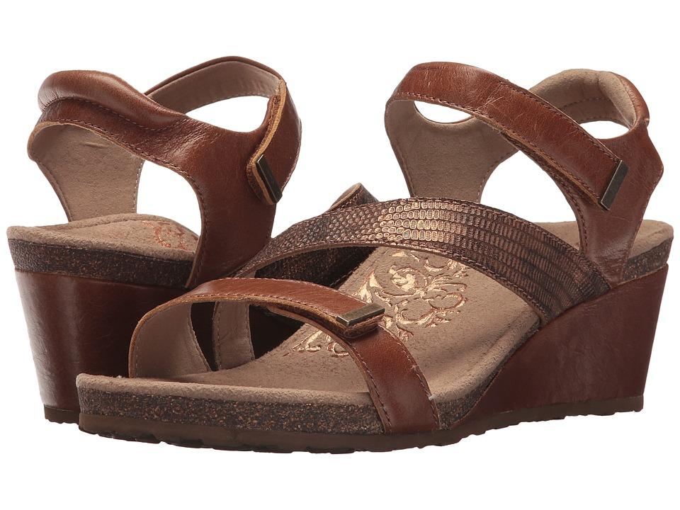 Aetrex - Brynn (Cognac) Women's Sandals