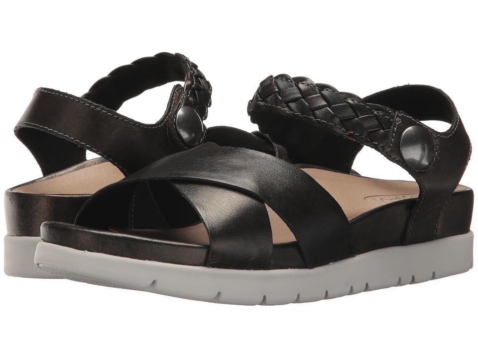 Aetrex - Piper (Black) Women's Sandals