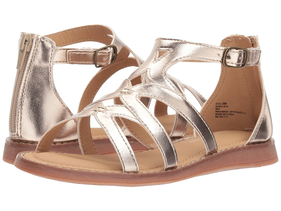 Hanna Andersson - Mia (Toddler/Little Kid/Big Kid) (Light Gold) Girls Shoes