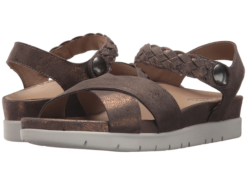 Aetrex Piper (Brass) Sandals
