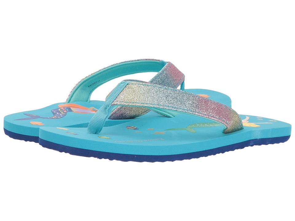 Hanna Andersson - Art (Toddler/Little Kid/Big Kid) (Turquoise Sea) Girls Shoes