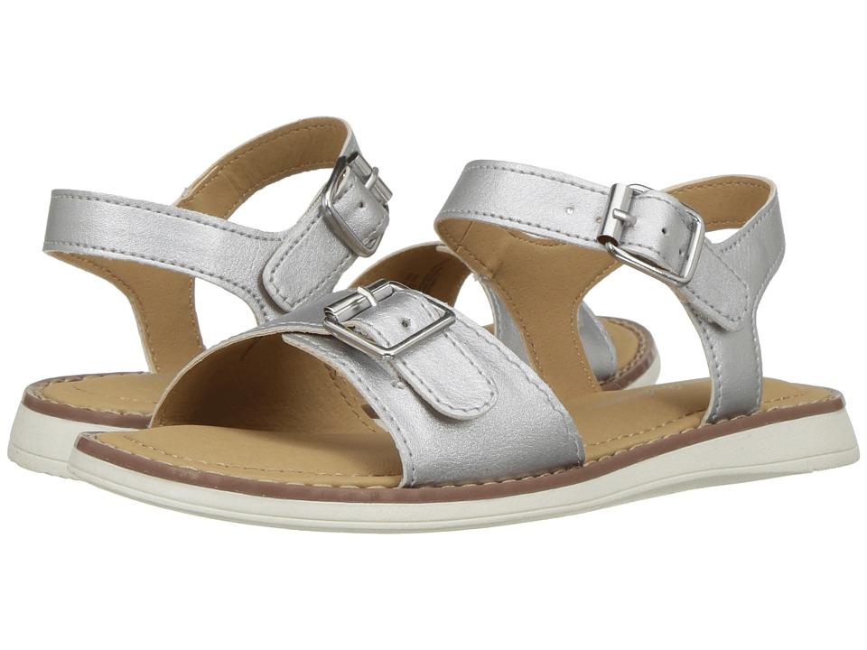 Hanna Andersson - Caty (Toddler/Little Kid/Big Kid) (Silver) Girls Shoes