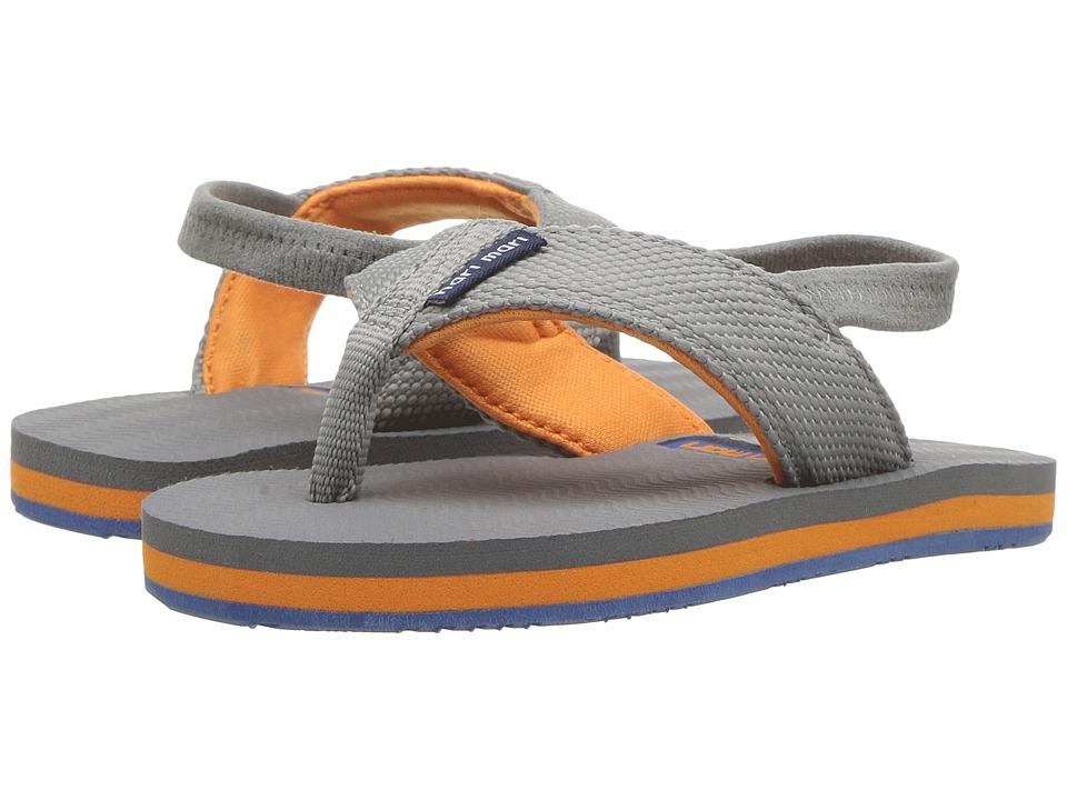 Hari Mari - Dunes (Toddler) (Gray/Blue/Orange) Sandals