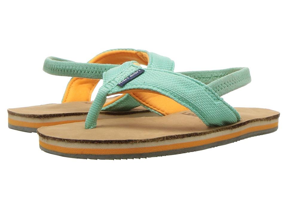 Hari Mari - Scouts (Toddler) (Mint/Orange) Sandals