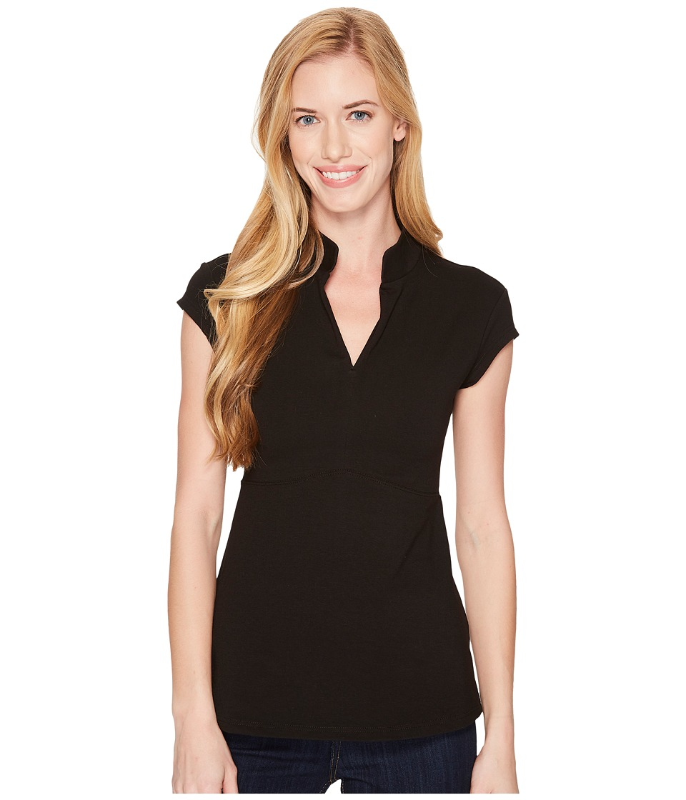 FIG Clothing - Bom Top (Black) Womens Clothing