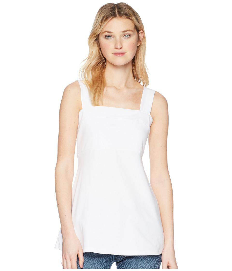 FIG Clothing Peg Top (White) Women's Clothing