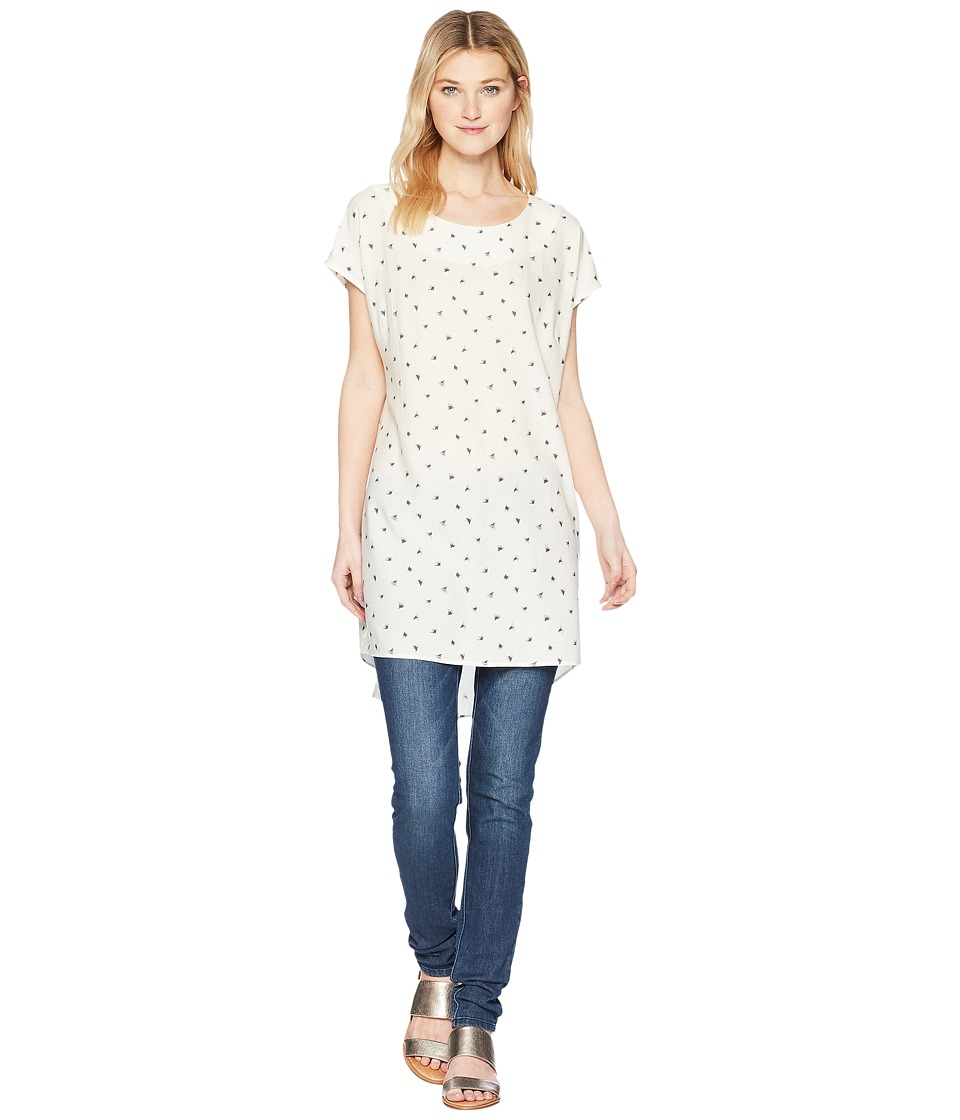 FIG Clothing - Nel Tunic (Ginkgo/Off-White) Womens Clothing