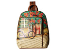Anuschka Handbags 487 Sling Over Travel Backpack