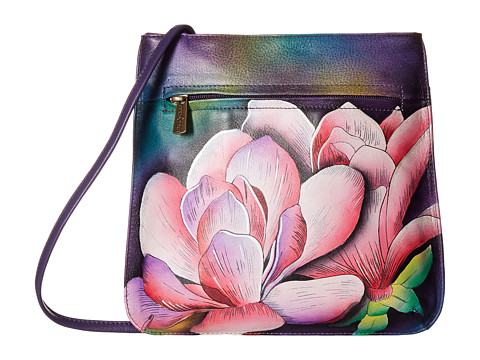 Anuschka Handbags 452 Mini X-Body - Magnolia Melody