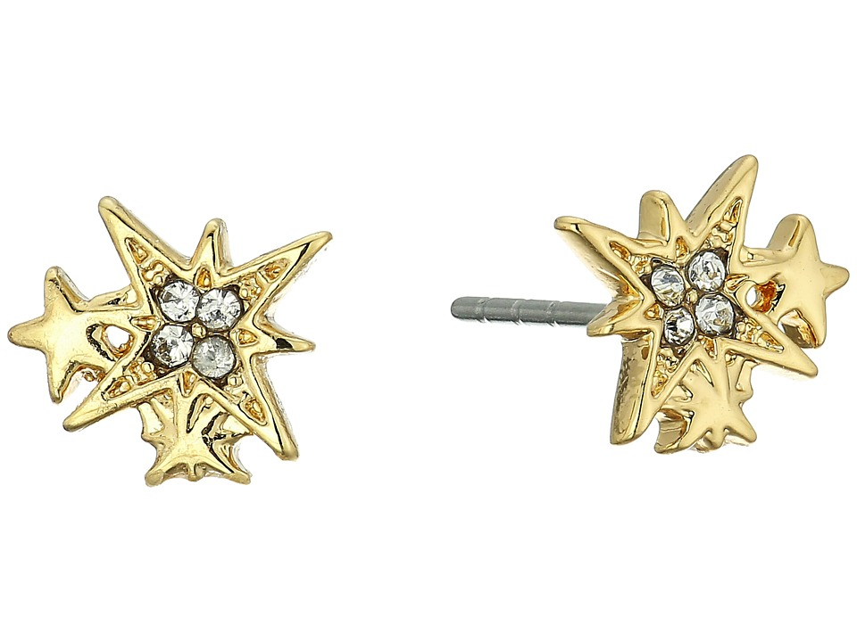 Rebecca Minkoff - Stargazing Stud Earrings (Gold) Earring
