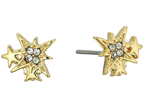 Rebecca Minkoff Stargazing Stud Earrings - Gold