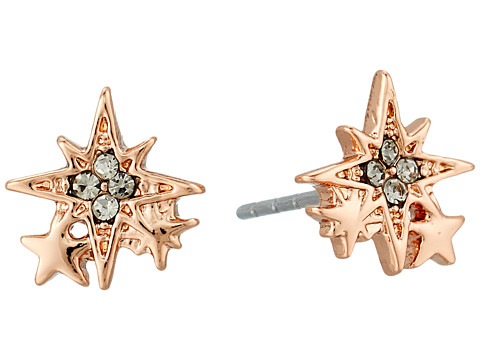 Rebecca Minkoff Stargazing Stud Earrings - Rose Gold
