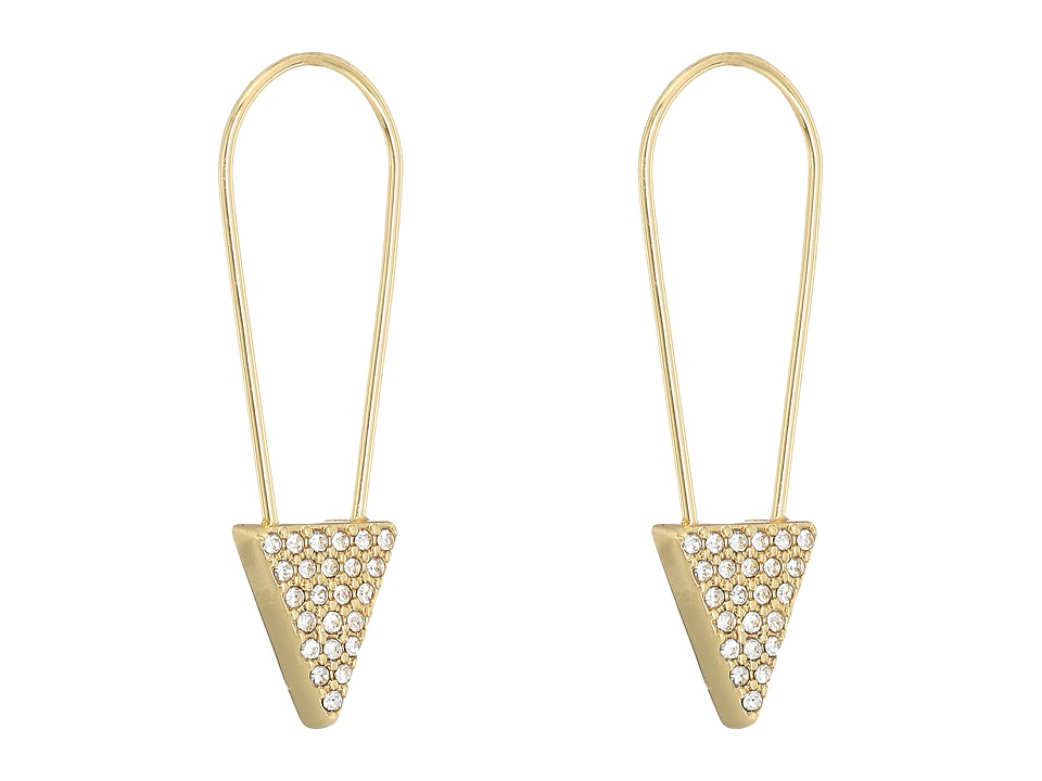 Rebecca Minkoff - Alexandria Pin Earrings (Gold) Earring