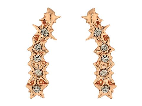 Rebecca Minkoff Stargazing Ear Crawler Stud Earrings - Rose Gold