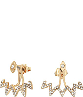 Rebecca Minkoff - Stargazing Front Back Earrings