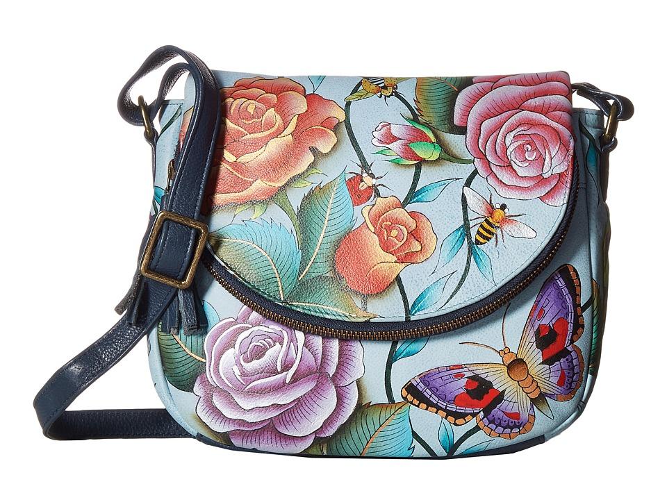 Anuschka Handbags - 547 Medium Flap-Over Convertible