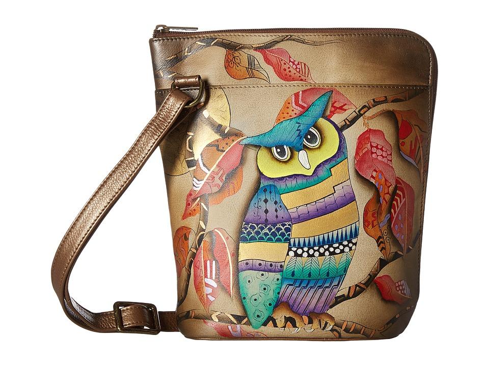 Anuschka Handbags - 493 Two Sided Zip Travel Organizer