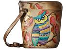 Anuschka Handbags 493 Two Sided Zip Travel Organizer