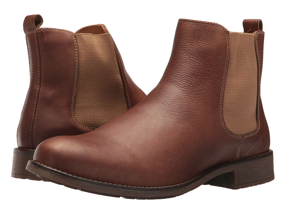 Massimo Matteo Chelsea PT Boot (Cognac) Men
