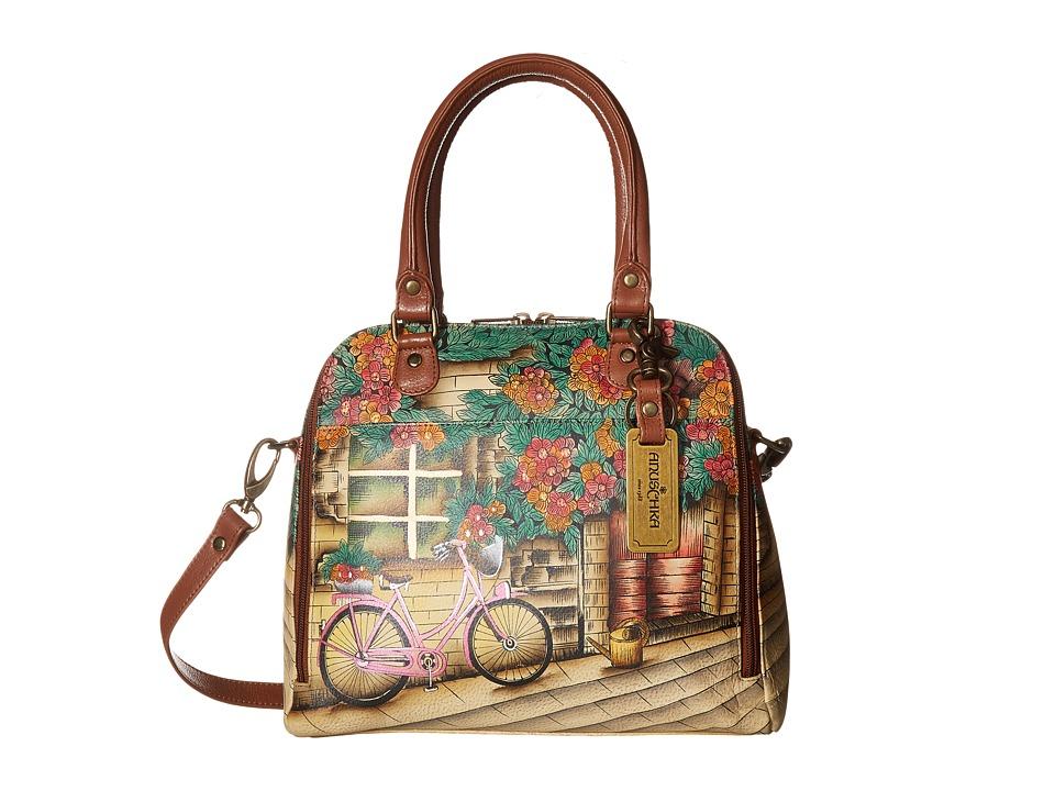 Anuschka Handbags - 606 Zip Around Convertible Satchel