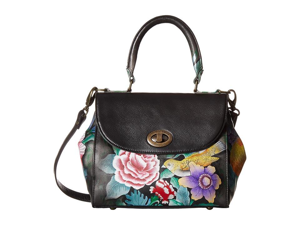 Anuschka Handbags - 624 Medium Flap Satchel