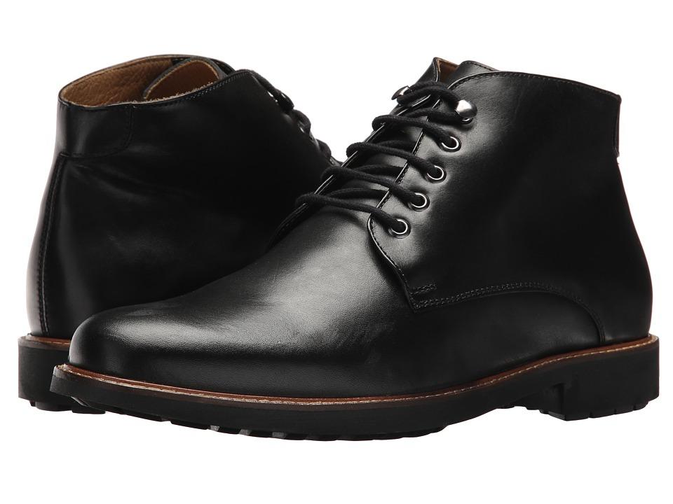 Massimo Matteo 5-Eye Chukka Boot (Black) Men