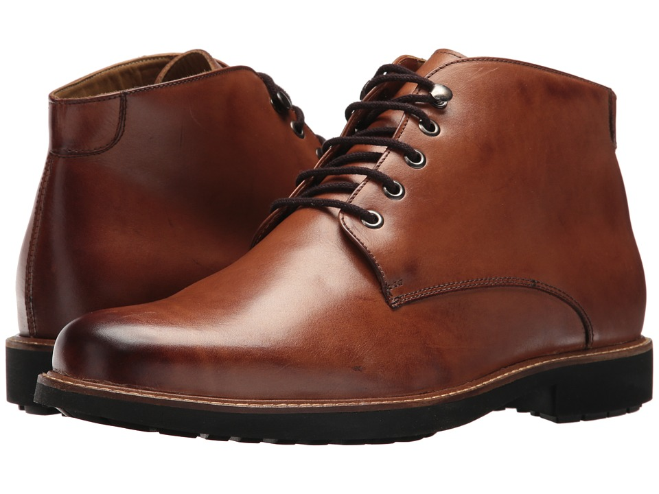 Massimo Matteo 5-Eye Chukka Boot (Tan) Men