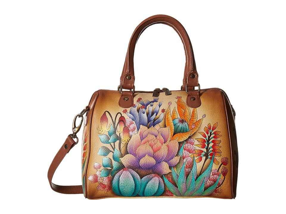Anuschka Handbags - 625 Zip Around Classic Satchel