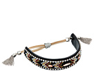 Rebecca Minkoff Sparkler Seedbead Bracelet with Velvet Pulley