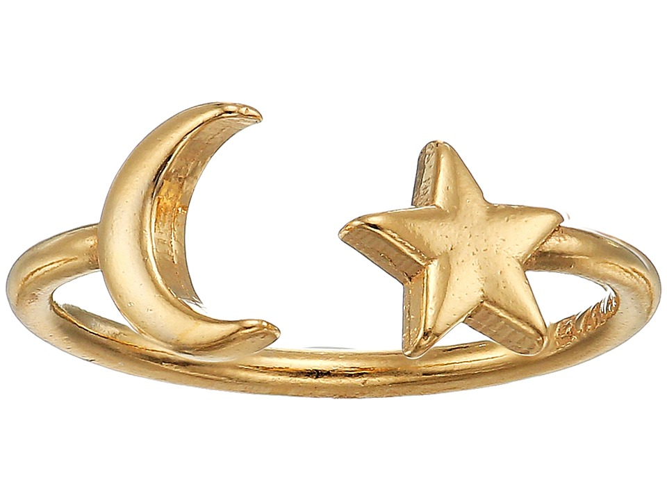 Alex and Ani - Moon and Star Adjustable Ring