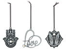 Alex and Ani Holiday Ornament Set Of 3