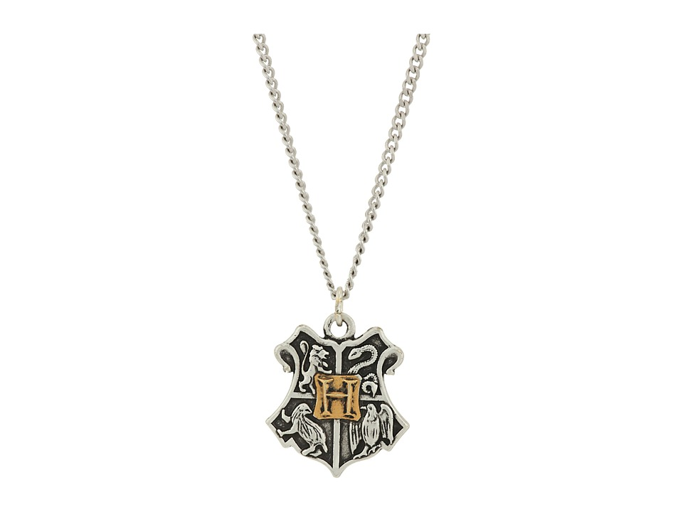 Alex and Ani - Harry Potter Hogwarts Two-Tone Necklace (Rafaelian Silver) Necklace