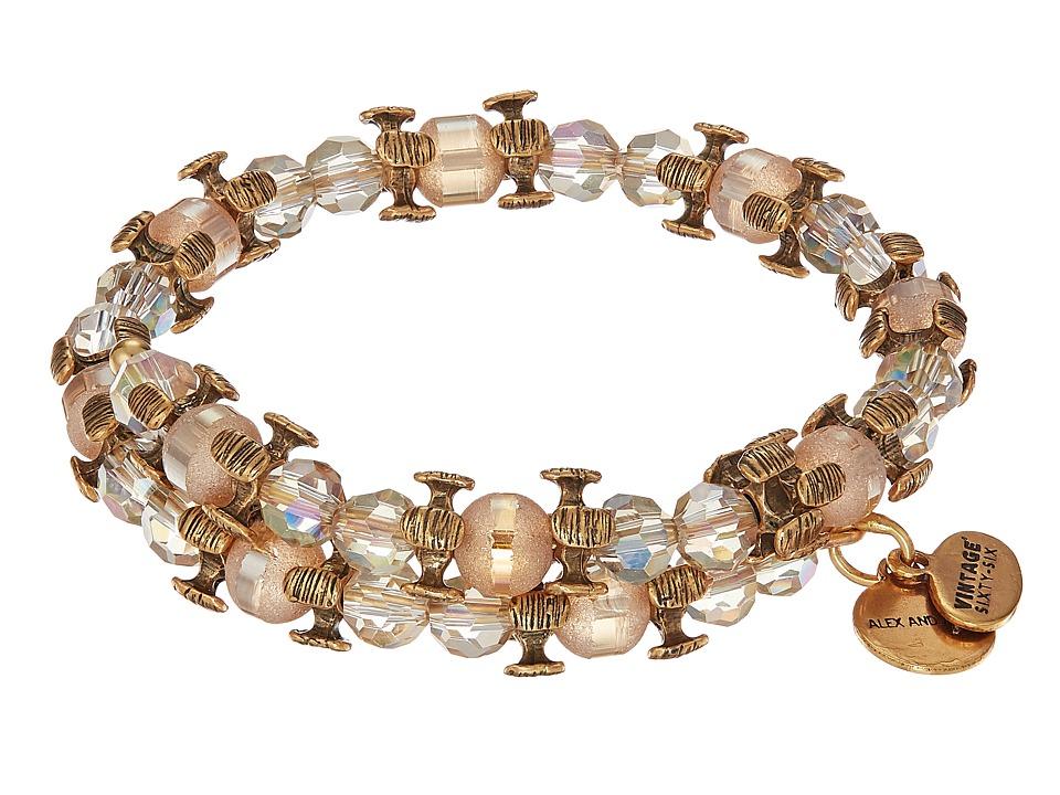 Alex and Ani - Splendor Wrap Honey Bracelet