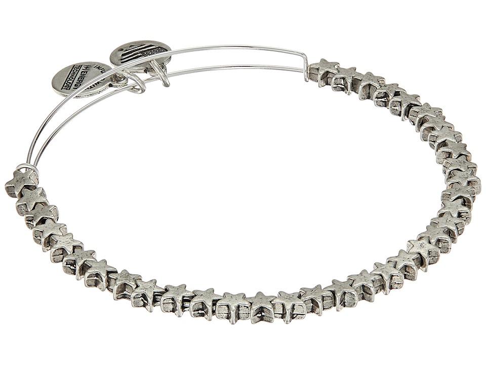 Alex and Ani - Star Bangle (Rafaelian Silver) Bracelet