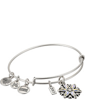- Black Friday Snowflake Bangle  Silver