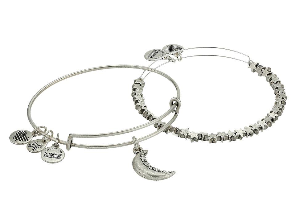 Alex and Ani - Crescent Moon Set Bracelet