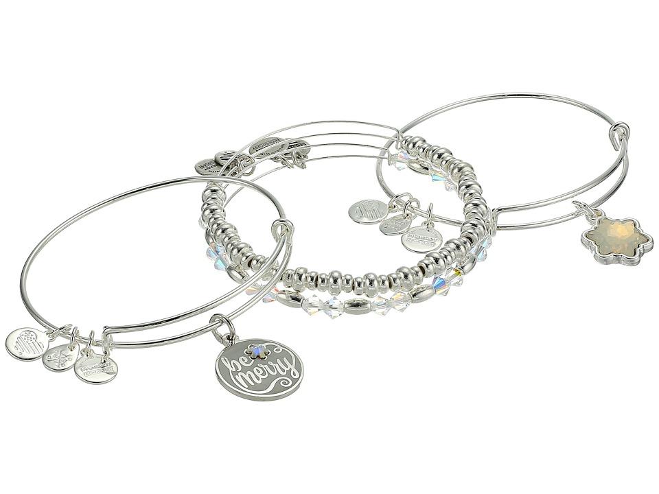 Alex and Ani - Be Merry Set Of 4 Bracelet