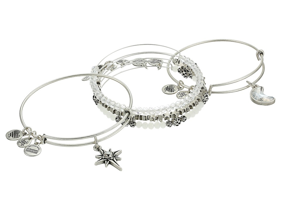 Alex and Ani - Moon Star Set Of 5 Bracelet