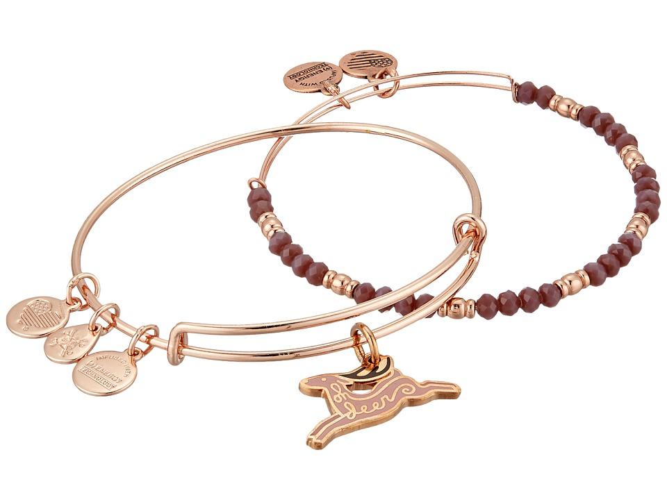 Alex and Ani - Oh Deer Set Of 2 Bracelet