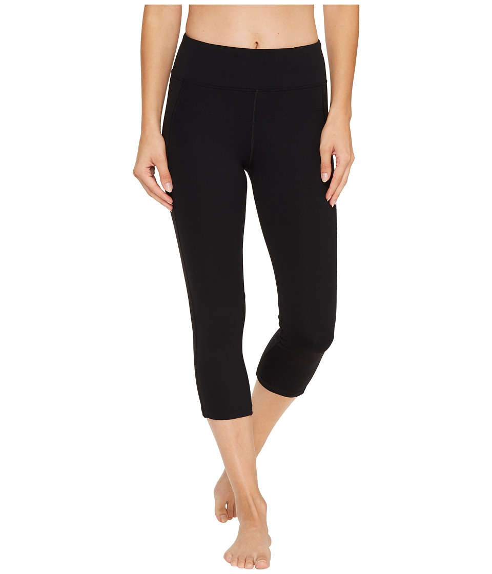 Lorna Jane - Ultimate Support 7/8 Tights (Black) Womens Casual Pants