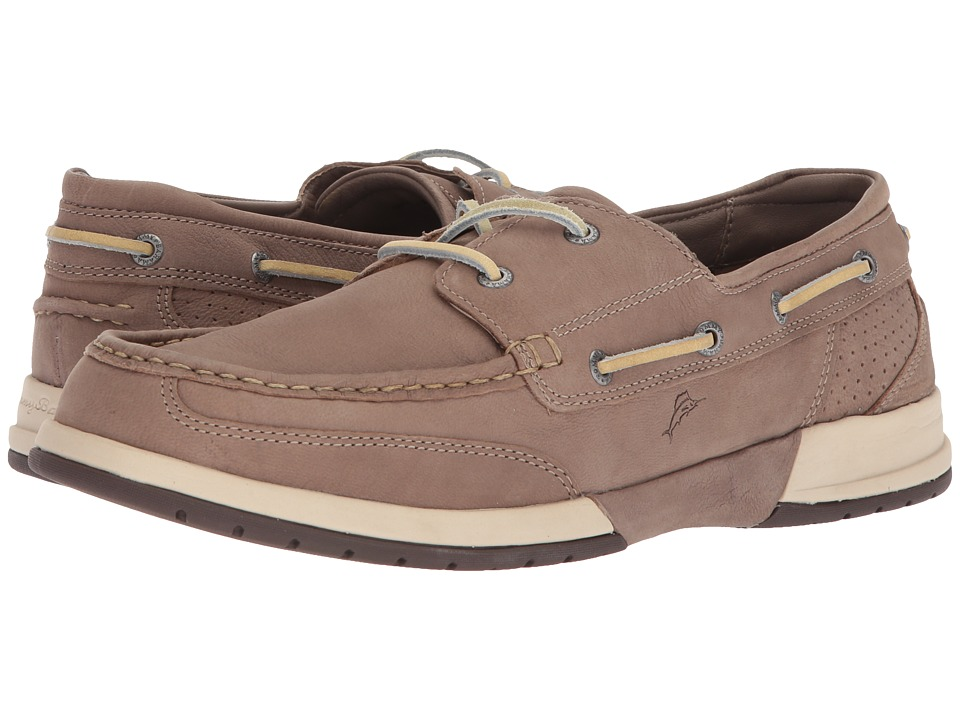 Tommy Bahama - Relaxology Ashore Thing (Taupe) Mens Moccasin Shoes