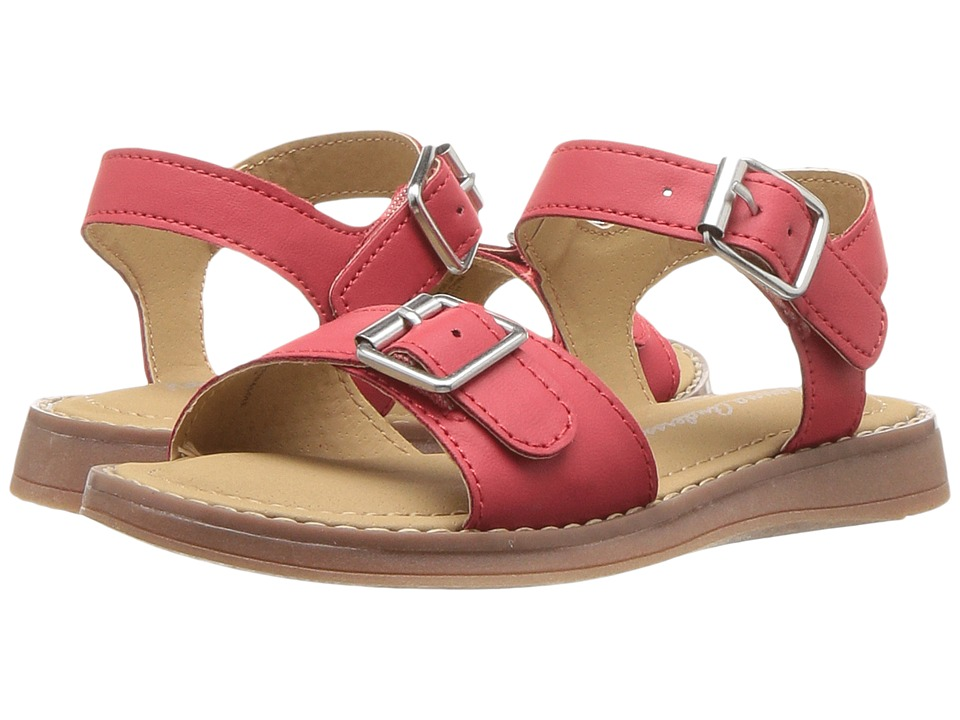 Hanna Andersson - Caty (Toddler/Little Kid/Big Kid) (Sunny Red) Girls Shoes