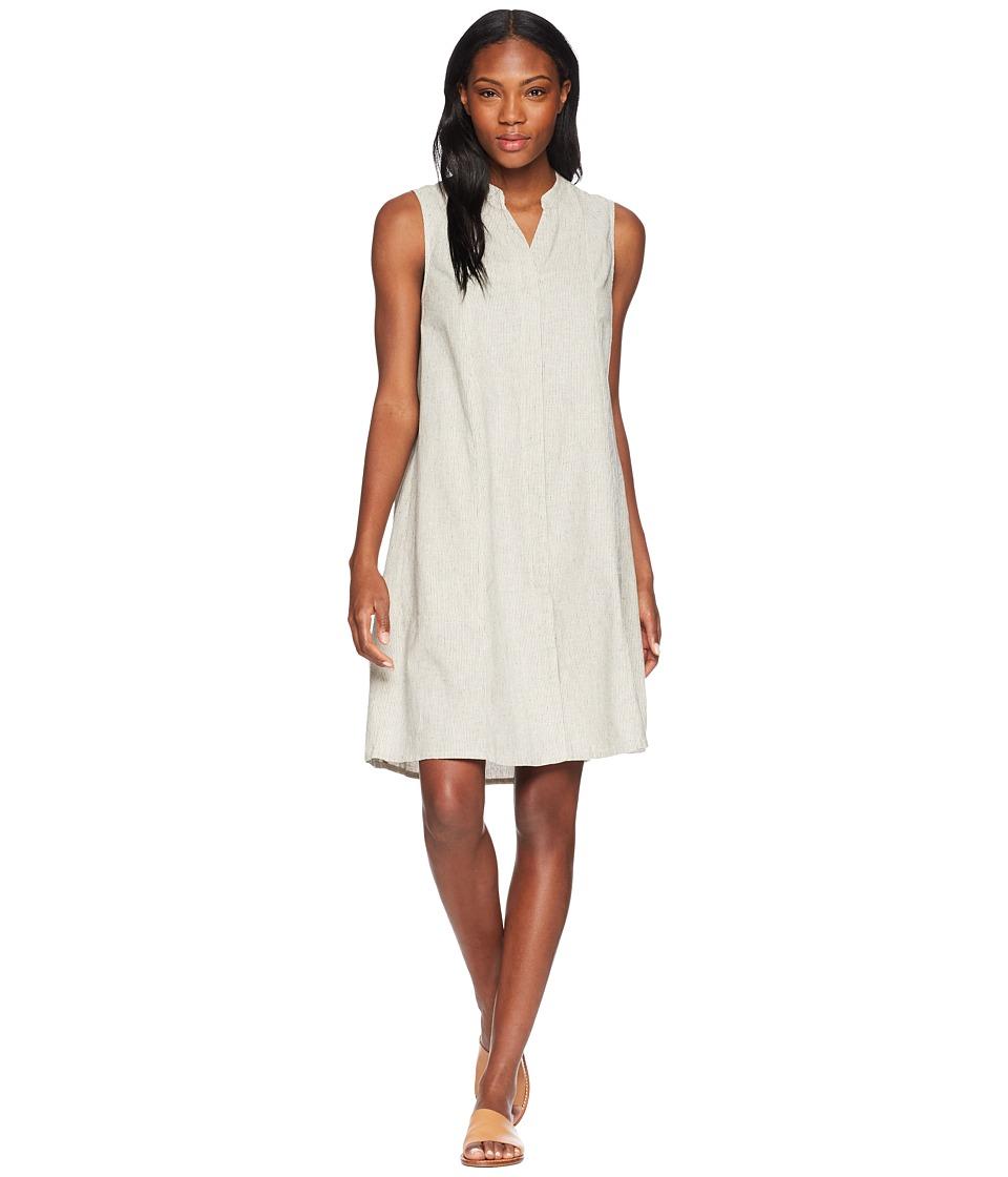 NAU Straight Up Sleeveless Dress (Caviar Stripe) Women
