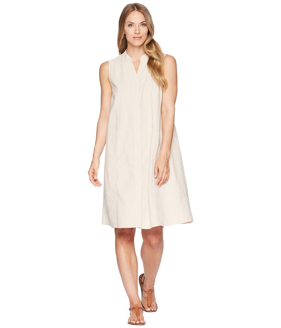 NAU Straight Up Sleeveless Dress (Almond Stripe) Women