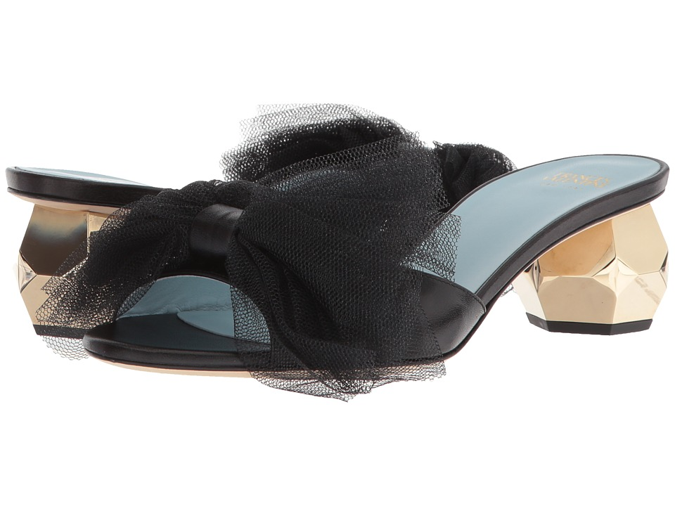 Frances Valentine - Dottie (Black) Womens Shoes