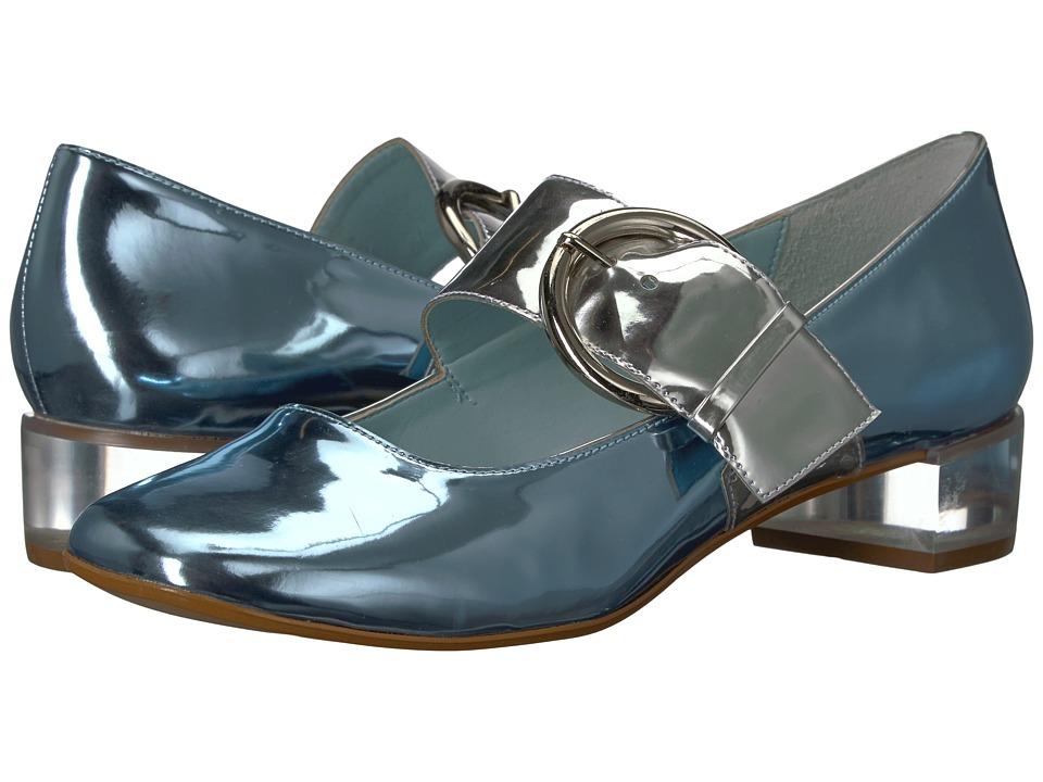 Frances Valentine - Katy (Pale Blue/Silver) Womens Shoes