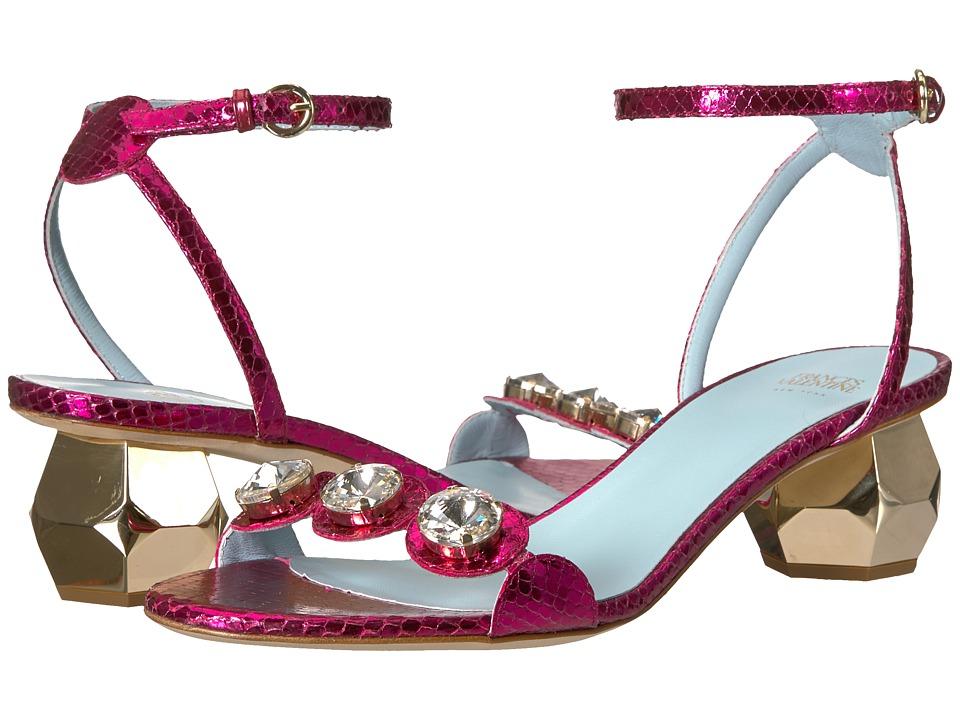 Frances Valentine - Beatrix (Fuchsia Printed Snake) Womens Shoes