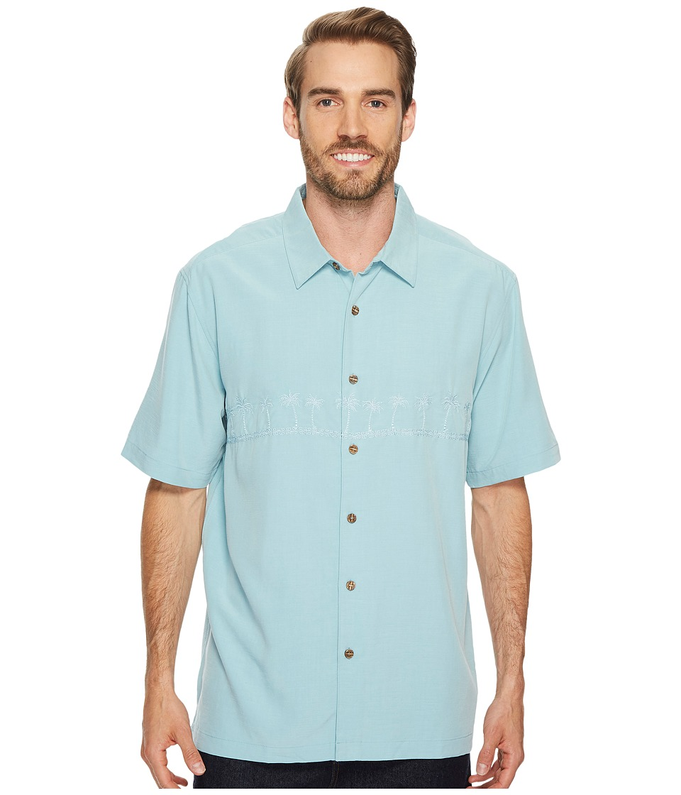 Quiksilver Waterman - Tahiti Palms 4 Traditional Polynosic Woven Top