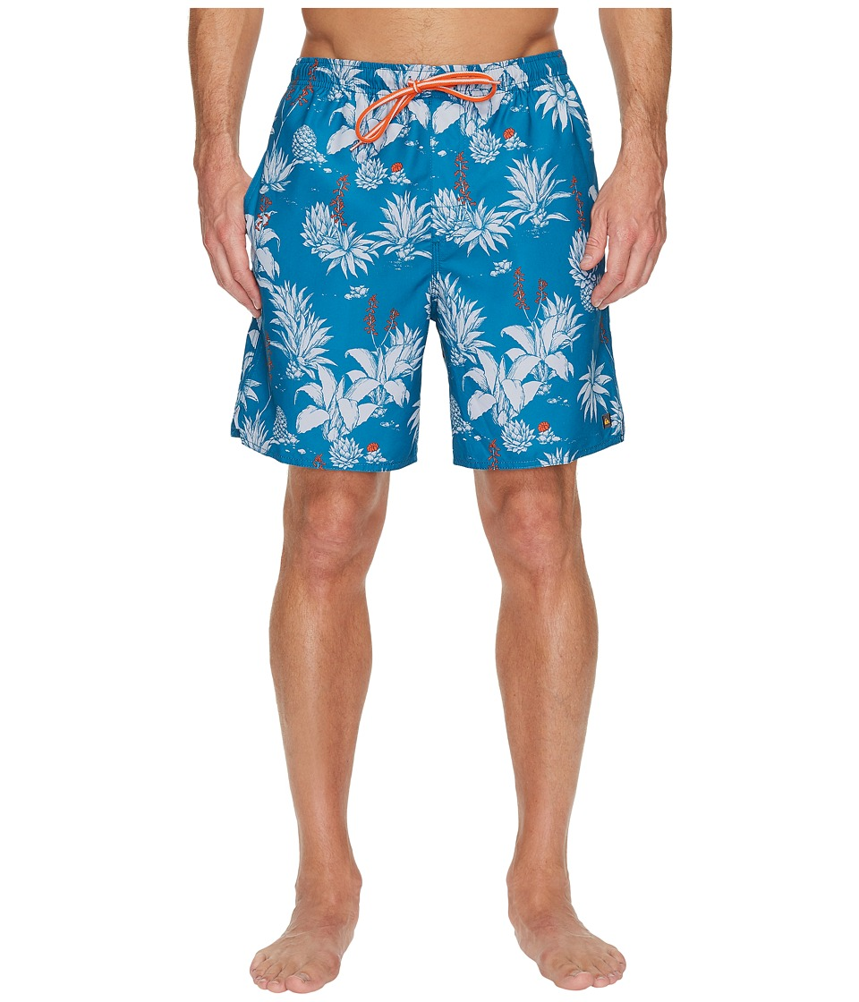 Quiksilver Waterman Agavy Volley Volley Shorts (Celestial) Men