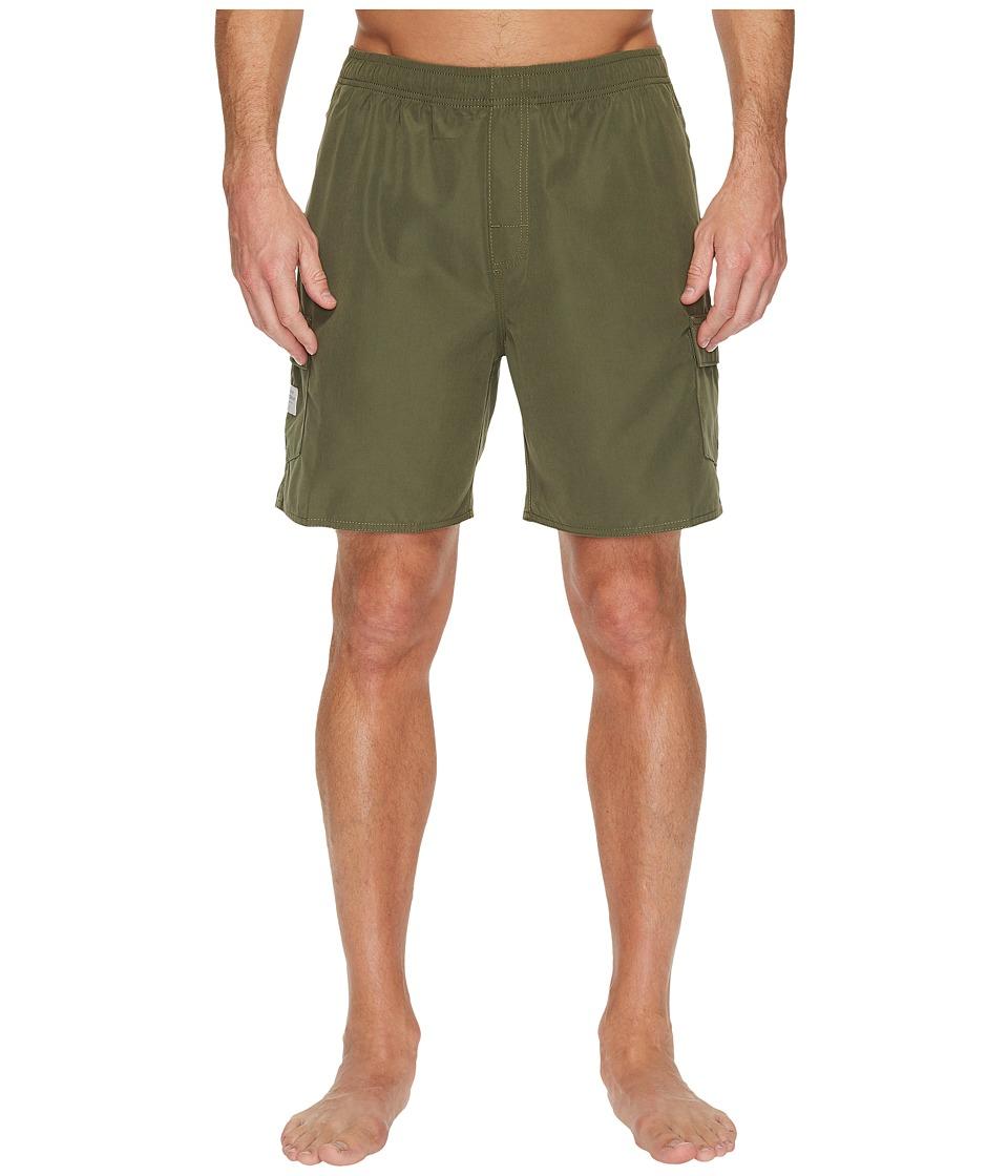 Quiksilver Waterman Balance 6 Volley Shorts (Beetle) Men